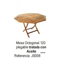 Mesa Octogonal Plegable
