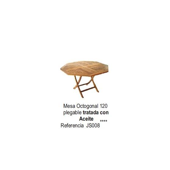 Mesa Octogonal Plegable