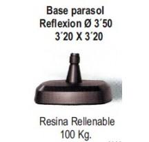 Base Parasol Reflexion