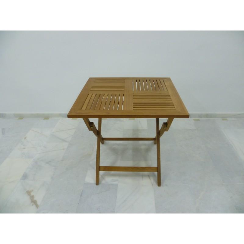 Mesa de teca plegable de gran calidad muy resistente - Mesa de teca ...