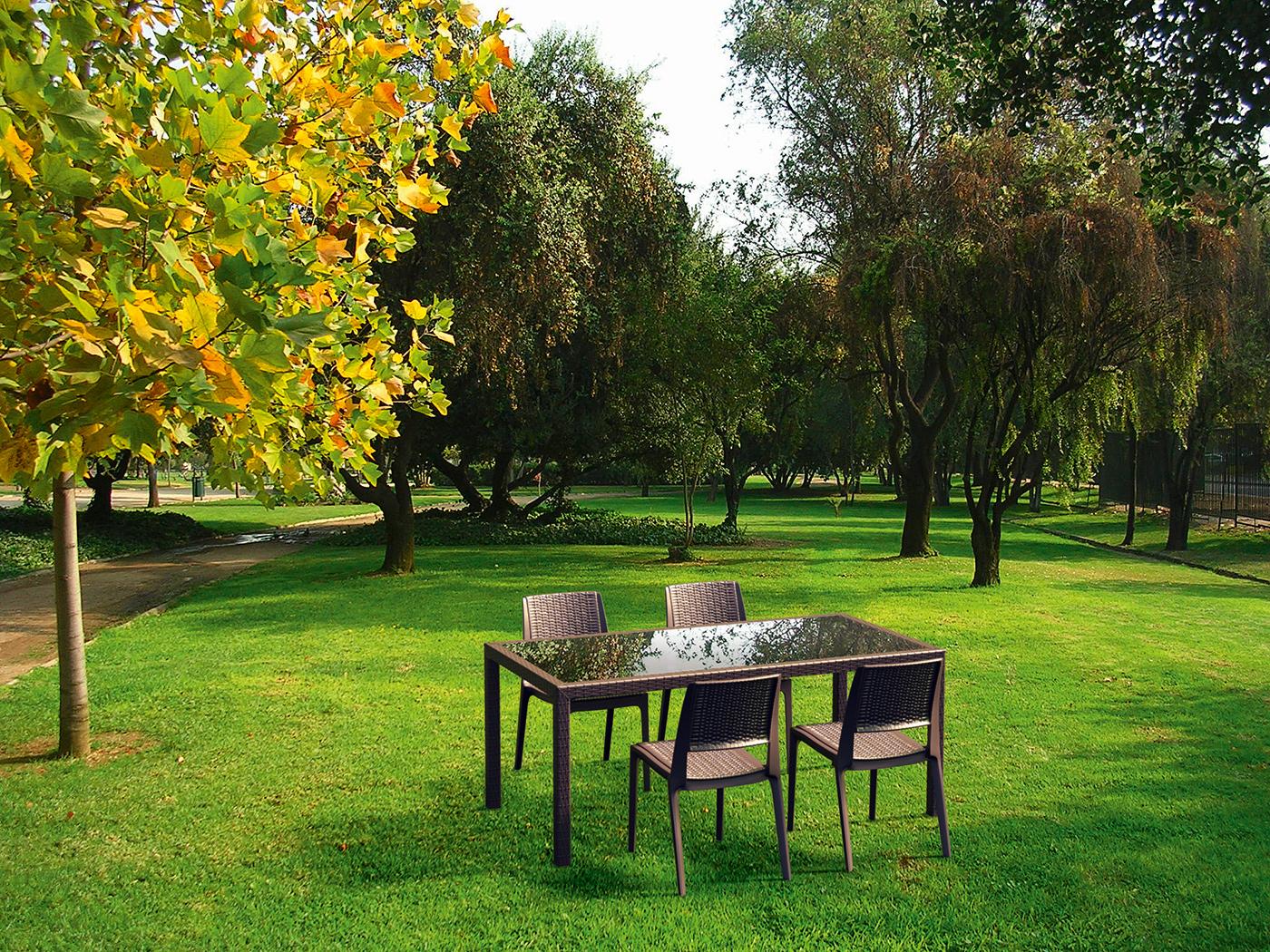 Mesa tahiti y sillas verona muebles de jard n - Mesas y sillas de jardin baratas ...