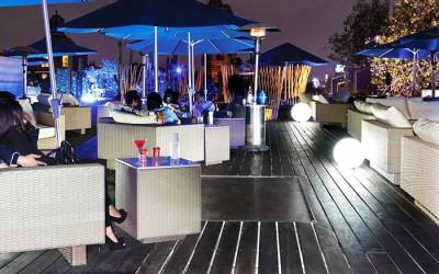 Mobiliario de terraza para hostelería